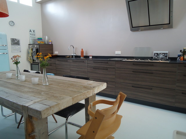 Sumatrastraat contemporary kitchen