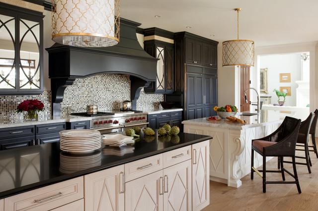 Summer Home on Martha's Vineyard contemporary-kitchen