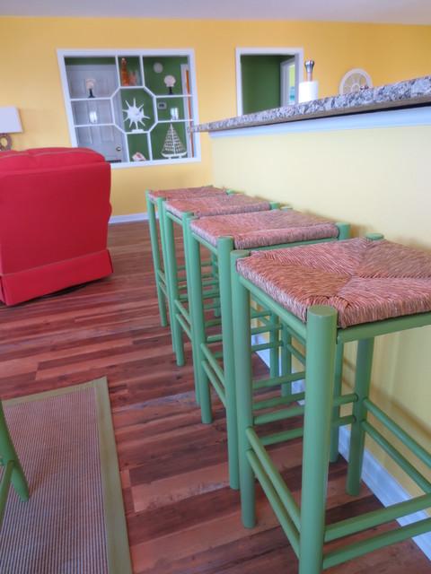 Summer Winds Condo beach-style-kitchen