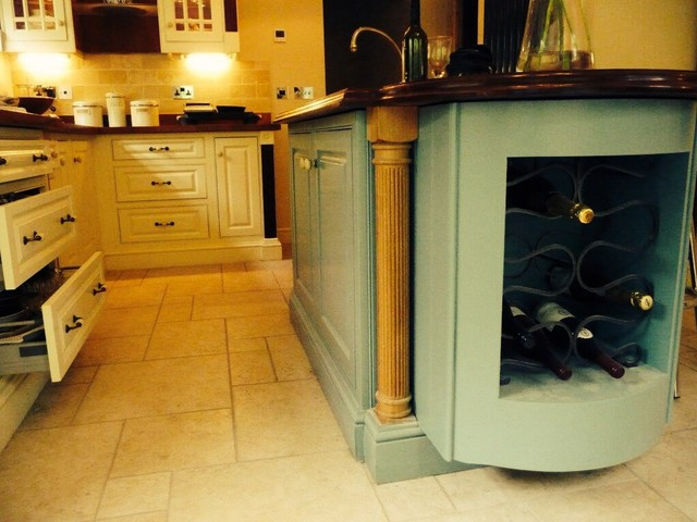 Summerleigh House - Traditional - Kitchen - london - by Yew & Maple