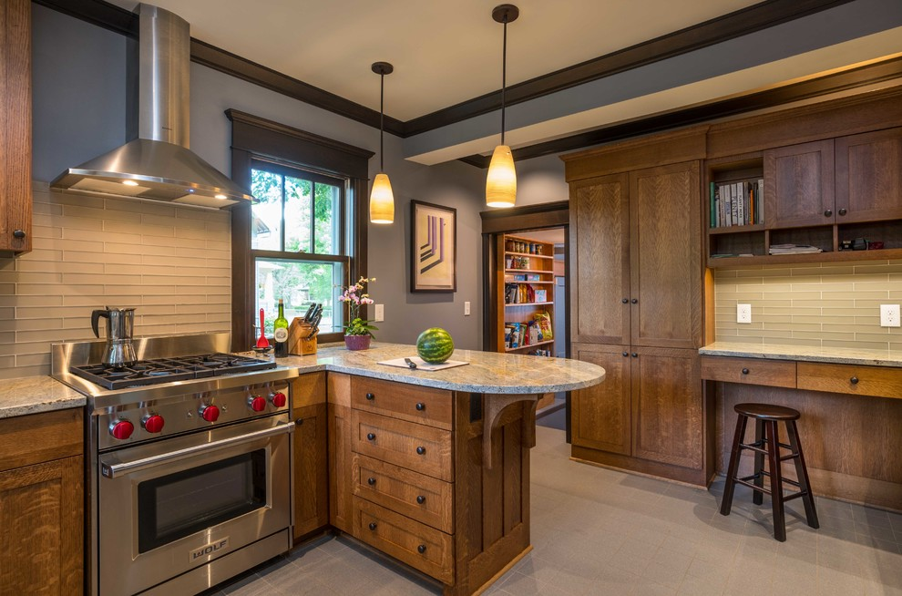 Summit Hill Kitchen Remodeling in St. Paul, MN - Craftsman ...