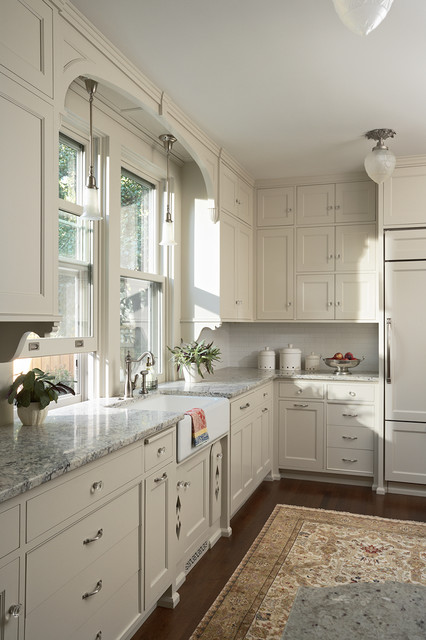 Summit Hill Shingle-Style Home Remodel - Victorian - Kitchen ...