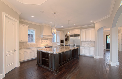 Traditional kitchen by burr ridge home builders summit signature homes