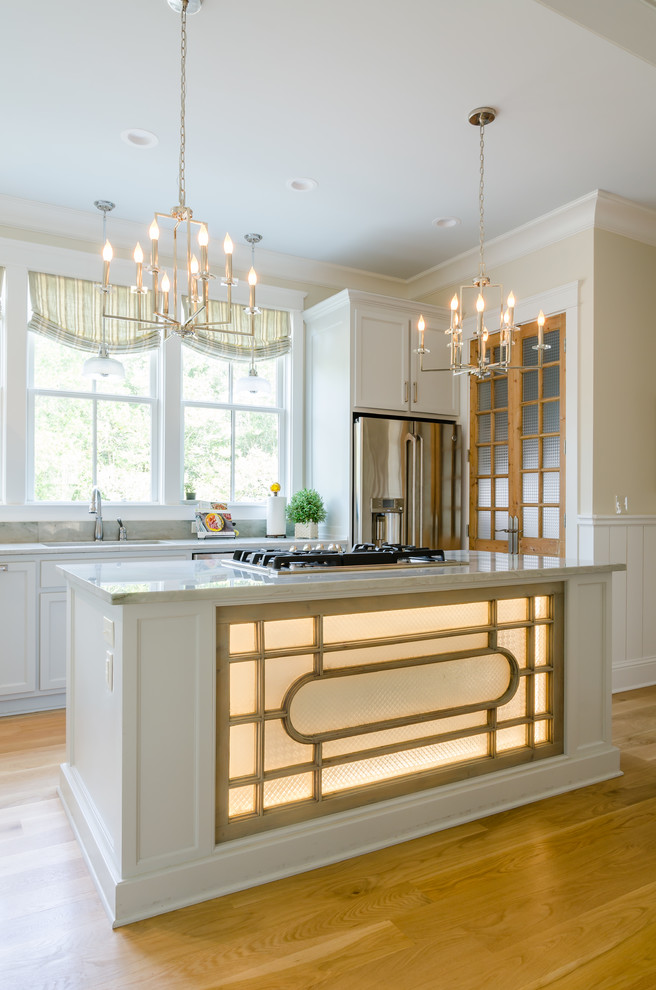 Inspiration for a cottage kitchen remodel in Other