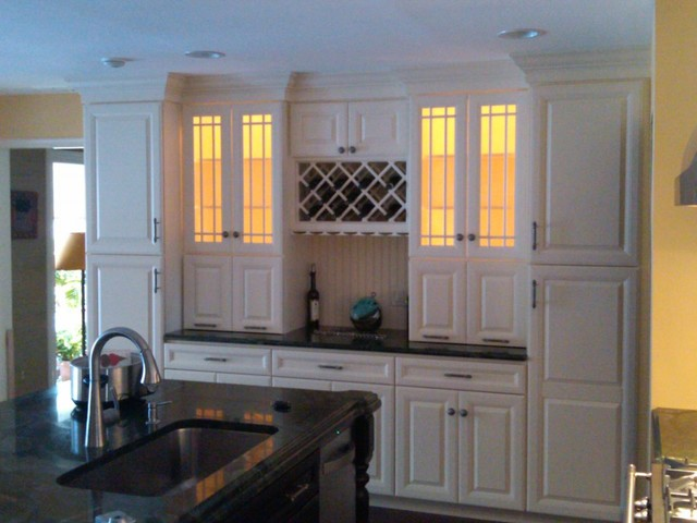 Summit Wall Unit - Traditional - Kitchen - New York - by Kitchens ...