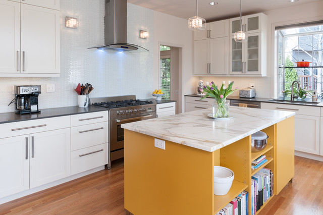 Sunny in Seattle Kitchen contemporary-kitchen