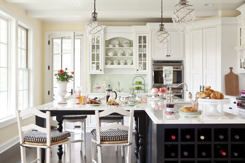 Shabby Chic Your Heart Out traditional kitchen