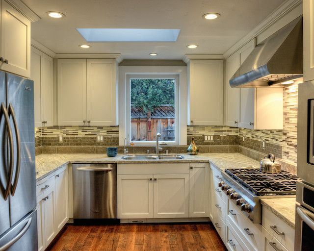 Sunnyvale remodel - Traditional - Kitchen - san francisco - by Susan Hoffman Interior Design