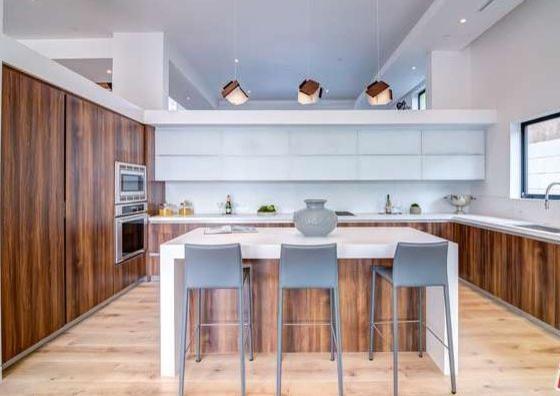 Sunrise 9 1 2 European Oak Traditional Kitchen Los Angeles By Adm Flooring Design