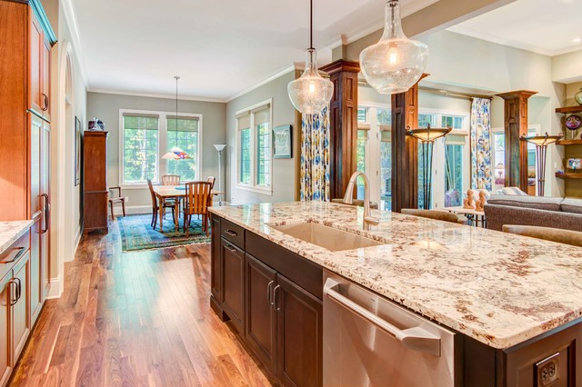 Sunrise On The Monon Cala Ramsey Craftsman Kitchen Indianapolis By Old Town Design Group Houzz Au