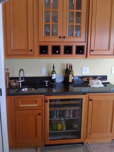 Sunroom traditional-kitchen