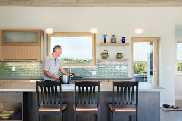 Sunset - Contemporary - Kitchen - Denver - by fuentesdesign, llc