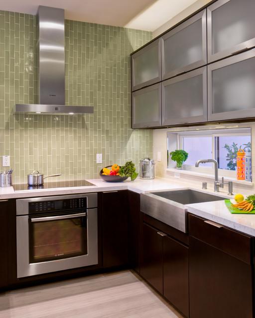Contemporary Kitchen Houzz: Sunset Smart Homes