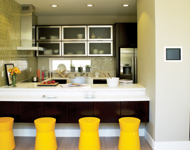 Sunset Smart Homes contemporary-kitchen
