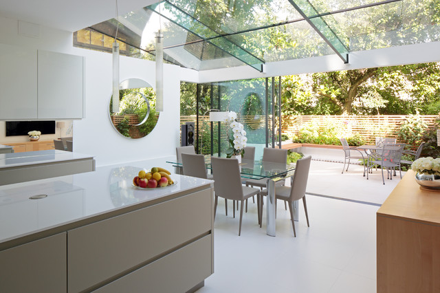 High Quality Sunshine And Elegance In North London Suburb Contemporary Kitchen