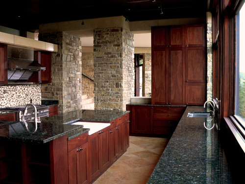 Sunshine Canyon house eclectic kitchen