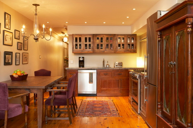 Charming Rustic Kitchen Ideas And Inspirations: Super Warm, Cozy And Charming Inde-Art Kitchen.