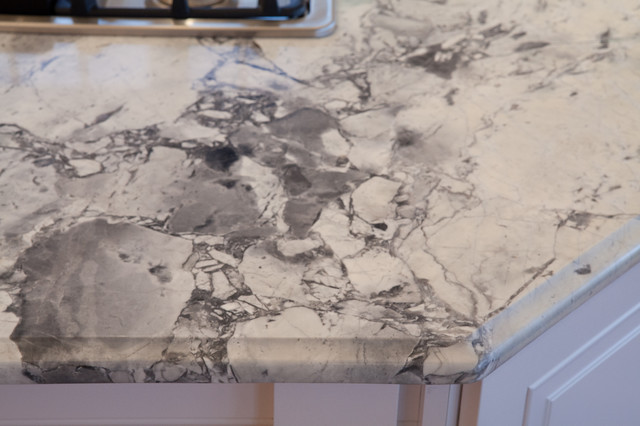 Kitchen Island Granite Edges granite counters with ogee edge | houzz