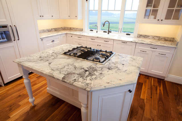 Super White Granite Countertops : Super white quartzite kitchen in calvert county md