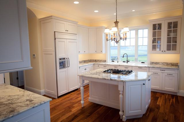 Super White Quartzite Kitchen In Calvert County Md