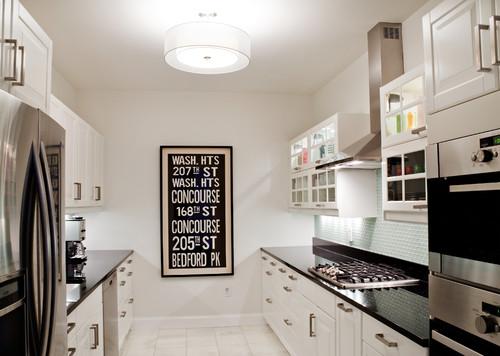 seeking inspiration pics - galley kitchen wall treatments (pics)