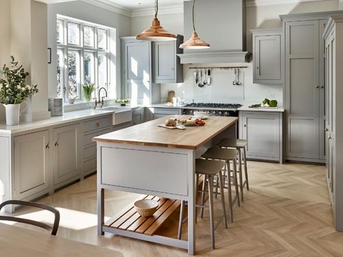 Surbiton Bespoke Light Grey Kitchen