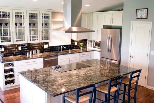 AK Interior Design Designers Decorators Surrey Ridge Residence Eclectic Kitchen