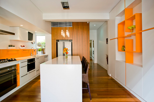 Contemporary Kitchen By Danny Broe Architect