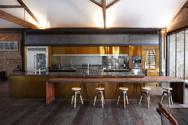 Surry Hills Warehouse Eclectic Kitchen Sydney By Art Of Kitchens Pty Ltd