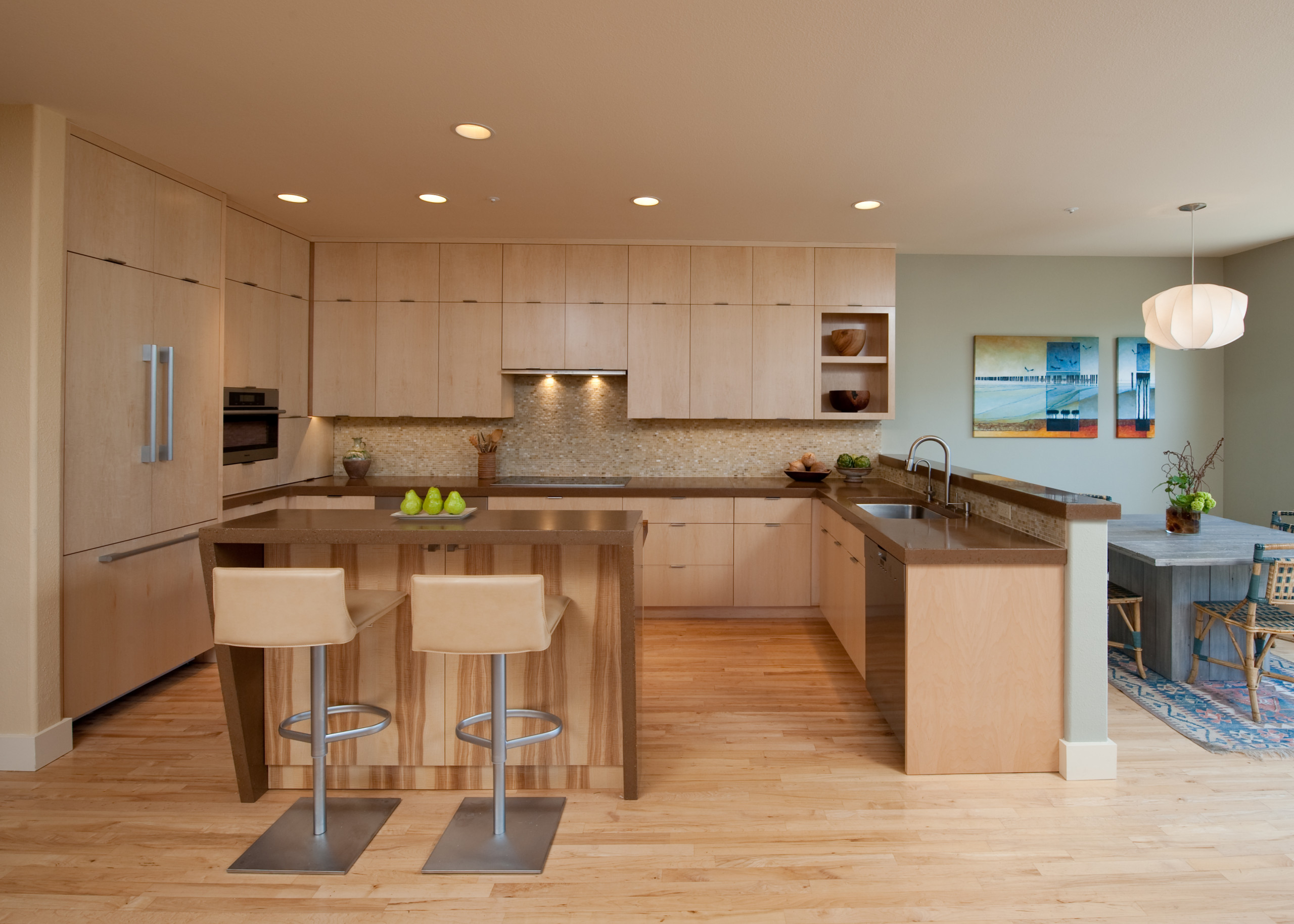 Sustainable Contemporary Kitchen