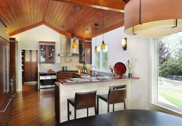 Sustainable Contempory/Ranch Kitchen contemporary-kitchen