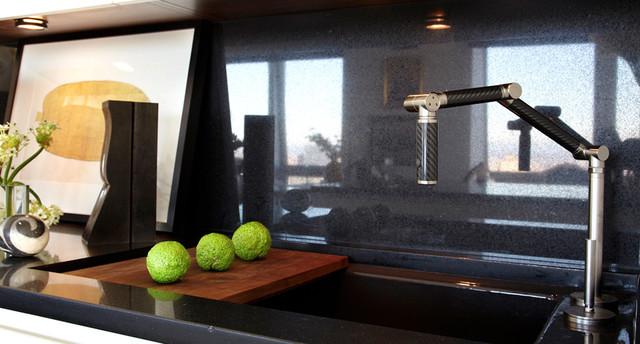 Sustainable Urban Kitchen eclectic-kitchen