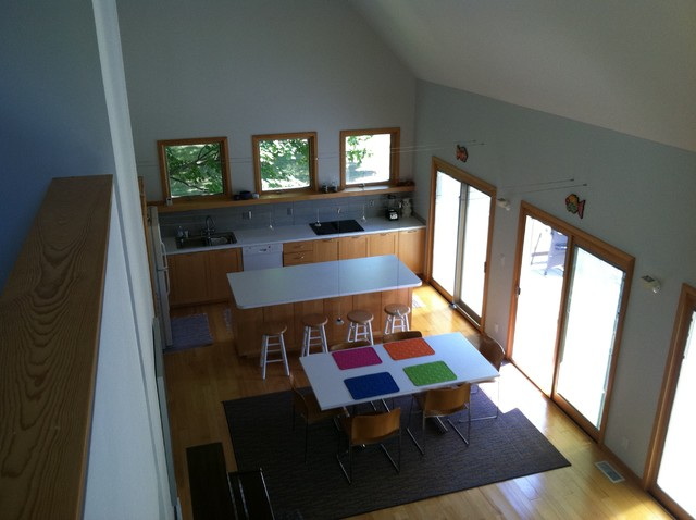 Suttons Bay Get-away contemporary-kitchen