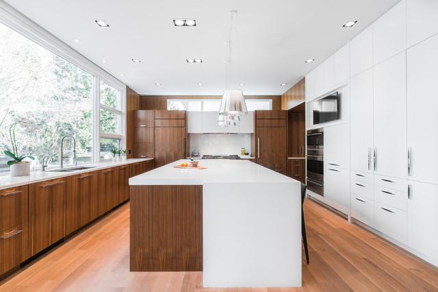 Sw Calgary Residence Contemporary Kitchen Calgary By Loop Interior Design Inc