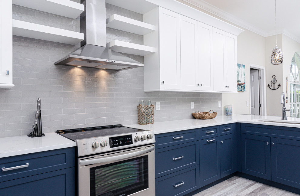 SW Cape Coral Kitchen Remodel - Transitional - Kitchen ...