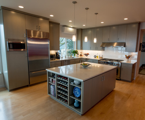 Contemporary Kitchen Renovation in Portland Oregon