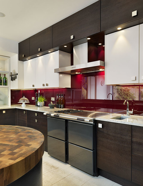 Sw London Residence Contemporary Kitchen London By Kitchenhaus
