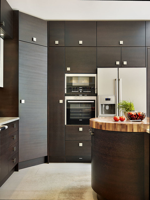 Sw london residence contemporary kitchen london by for Eye level oven kitchen designs