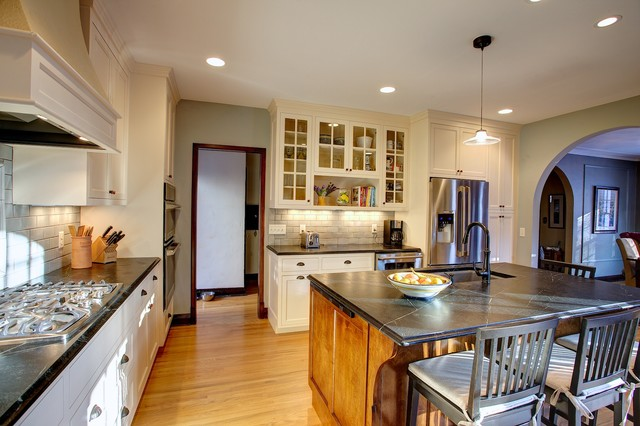 SW Minneapolis updated Tudor traditional-kitchen