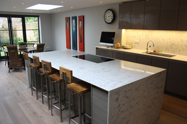 Sw15 Contemporary Kitchen South East By John Roberts Design Ltd