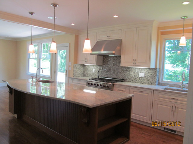 Swampscott MA New Home traditional-kitchen