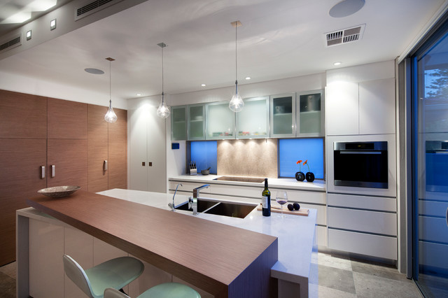 Swanbourne Duplex 2012 Contemporary Kitchen Perth By Yael K Designs