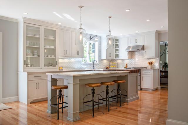 swanson landhausstil k che boston von pennville. Black Bedroom Furniture Sets. Home Design Ideas