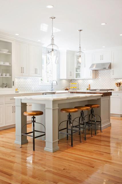 Swanson Farmhouse Kitchen Boston By Pennville