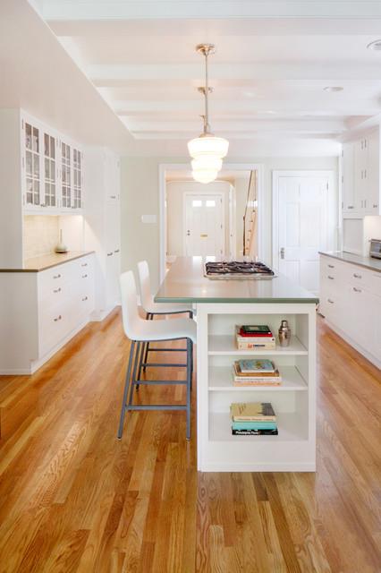 Swarthmore Residence - Transitional - Kitchen - Philadelphia - by Amy Cuker, MBA, LEED AP