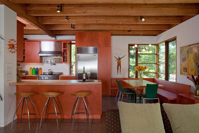 Swatt Residence modern-kitchen