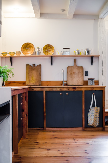 Swedish Kitchen Design In Cooperstown Ny 北欧 家の外観 ニューヨーク Redpoint Design Build Houzz ハウズ