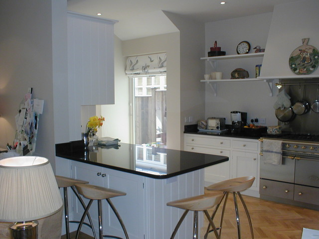 Swedish Style Kitchen Traditional Kitchen London