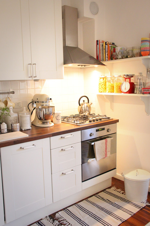 The studio m designs blog small kitchen solutions for Small kitchen solutions design