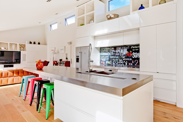 U0027Sweet Asu0027 Printed Image On Glass Kitchen Splashback / Backsplash  Contemporary Kitchen